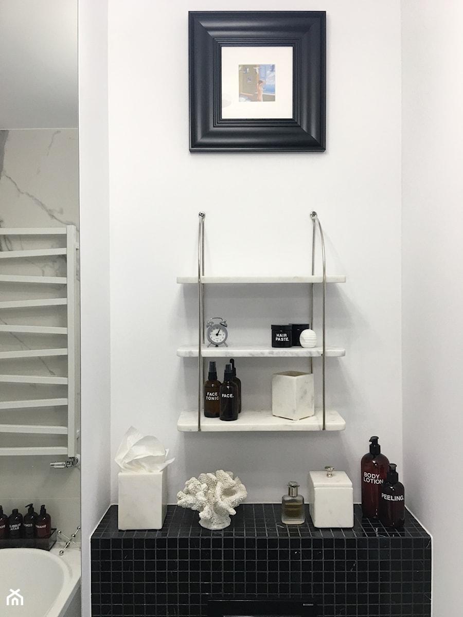 Konkurs O!Twórz Mieszkanie - Biała łazienka, styl eklektyczny - zdjęcie od Porta Drzwi