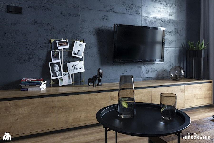 Konkurs O!Twórz Mieszkanie - Salon, styl nowoczesny - zdjęcie od Porta Drzwi
