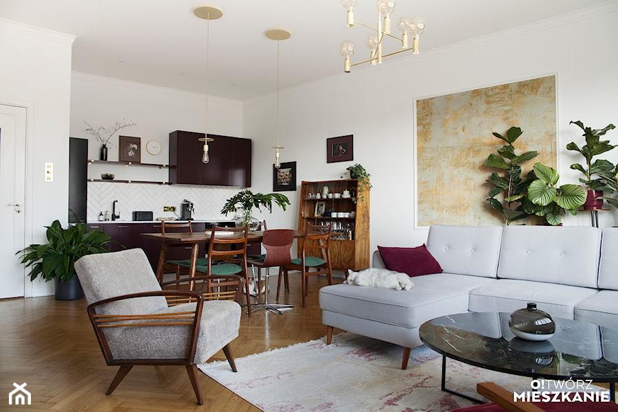 Konkurs O!Twórz Mieszkanie - Salon, styl eklektyczny - zdjęcie od Porta Drzwi