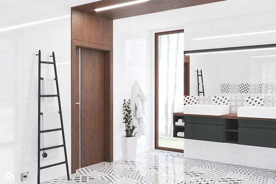 Inspiracje - Łazienka, styl nowoczesny - zdjęcie od Porta Drzwi
