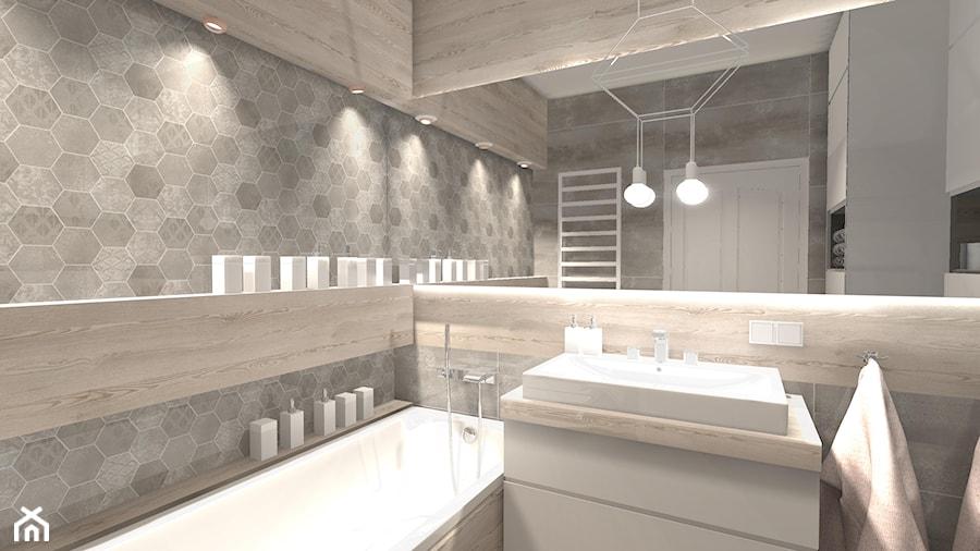 Przytulne Mieszkanie Mała łazienka W Bloku W Domu