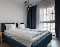 Gdańsk Motława - Średnia biała sypialnia dla gości, styl nowoczesny - zdjęcie od juliarz - Homebook