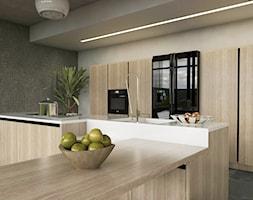 Minimalistycznie - dom Wejherowo - Kuchnia, styl minimalistyczny - zdjęcie od Studio 23A - Homebook