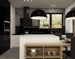 Dom Gdańsk Osowa - Kuchnia, styl nowoczesny - zdjęcie od Studio 23A - Homebook