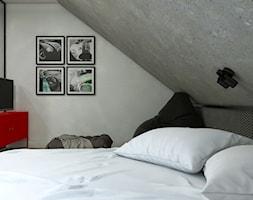 Dom Gdańsk Osowa 2 - Mały szary pokój dziecka dla chłopca dla dziewczynki dla nastolatka, styl nowo ... - zdjęcie od Studio 23A - Homebook