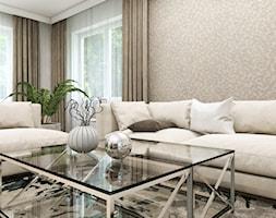 Dom Gdańsk Osowa 2 - Salon, styl nowoczesny - zdjęcie od Studio 23A - Homebook