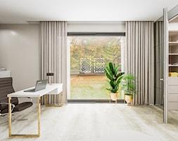 Dom w pastelach - Biuro - zdjęcie od Pixels - Homebook