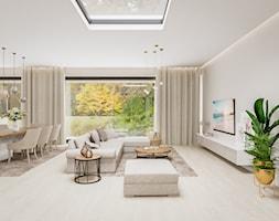 Dom w pastelach - Salon - zdjęcie od Pixels - Homebook