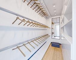 Dom Nowoczesny - Mała zamknięta garderoba, styl nowoczesny - zdjęcie od Pixels