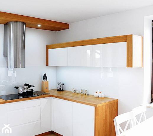 Kuchnia Biała Z Drewnem Pomysły Inspiracje Z Homebook