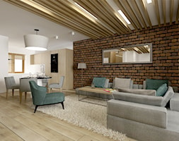 Projekt domu 120 mkw - zdjęcie od IMO studio