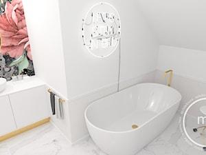 Projekt drugiej łazienki, Tarnów, 2018