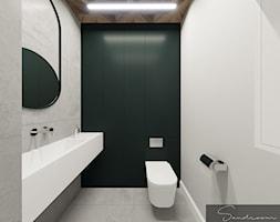 Łazienka dla klientów w Kancelarii - zdjęcie od sandroom - Homebook