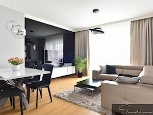 Realizacja nowoczesnego  projektu mieszkania na Żoliborzu