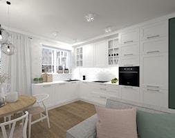 Jasna kuchnia w stylu skandynawskim - zdjęcie od sandroom