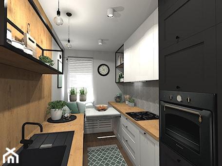 Aranżacje wnętrz - Kuchnia: Kuchnia w industrialnym stylu - sandroom. Przeglądaj, dodawaj i zapisuj najlepsze zdjęcia, pomysły i inspiracje designerskie. W bazie mamy już prawie milion fotografii!