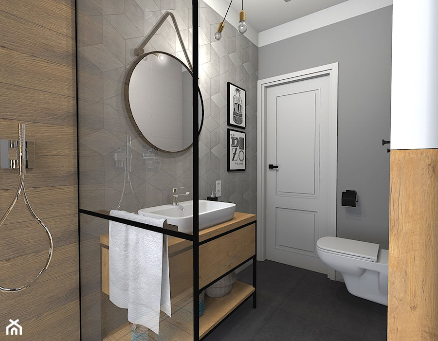 łazienka Z Wanną I Prysznicem Zdjęcie Od Sandroom Homebook