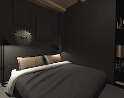 Męski loft w odrestaurowanych koszarach/sypialnia - zdjęcie od sandroom