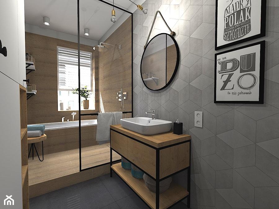 Łazienka z wanną i prysznicem - zdjęcie od sandroom