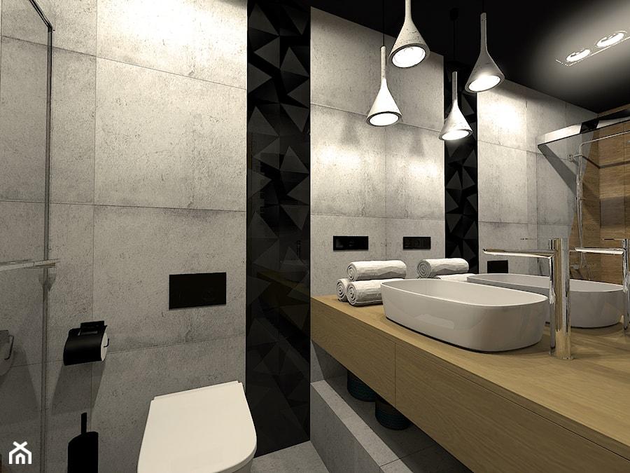 Efektowna łazienka Na Parterze Dla Gości Zdjęcie Od