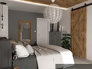 Sypialnia w rustykalnym stylu - zdjęcie od sandroom