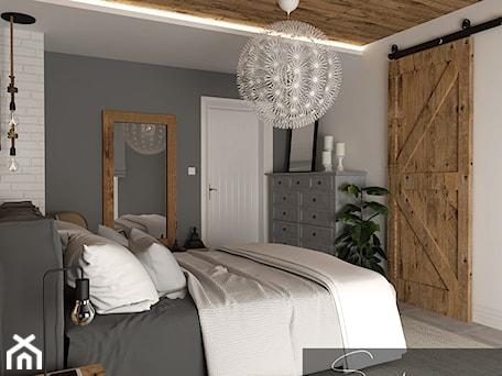 Aranżacje wnętrz - Sypialnia: Sypialnia w rustykalnym stylu - sandroom. Przeglądaj, dodawaj i zapisuj najlepsze zdjęcia, pomysły i inspiracje designerskie. W bazie mamy już prawie milion fotografii!