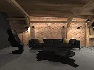 Męski loft w odrestaurowanej, powojennej kamienicy