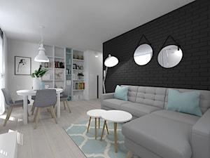 Nowoczesne 40-metrowe mieszkanie w Olsztynie