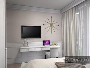 Przytulna, elegancka sypialnia - zdjęcie od sandroom