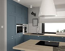 Niebieska kuchnia - zdjęcie od sandroom