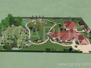 Ogród ze stawem - zdjęcie od InGarden. Projektowanie ogrodów Ostrowiec Św.