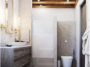 łazienka w przytulnzm klimacie - zdjęcie od ARCH-BOOM