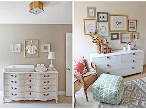 Mały beżowy brązowy pokój dziecka dla chłopca dla dziewczynki dla malucha dla nastolatka - zdjęcie od RAKBISobrazy