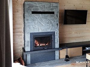 Kominek w domu górskim - zdjęcie od Kamieniarstwo KamHell