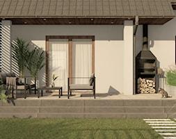 Strefa wypoczynkowa w ogrodzie - taras - zdjęcie od Pracownia STTYK | Architektura Wnętrz i Krajobrazu | Projektowanie wnętrz i ogrodów | TRÓJMIASTO