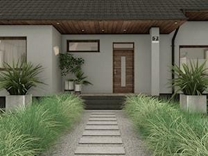 Strefa wejściowa ogrodu - zdjęcie od Pracownia STTYK | Architektura Wnętrz i Krajobrazu | Projektowanie wnętrz i ogrodów | TRÓJMIASTO