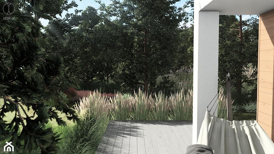 Aranżacje wnętrz - Ogród: PROJEKT NATURALISTYCZNEGO OGRODU PRZY DOMU JEDNORODZINNYM, Gdańsk Osowa - Przestrzenie do wypoczynku - Pracownia STTYK | Architektura Wnętrz i Krajobrazu | Projektowanie wnętrz i ogrodów | TRÓJMIASTO. Przeglądaj, dodawaj i zapisuj najlepsze zdjęcia, pomysły i inspiracje designerskie. W bazie mamy już prawie milion fotografii!