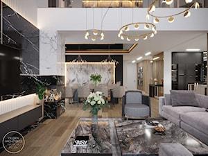 Eleganckie i przestronne wnętrze domu