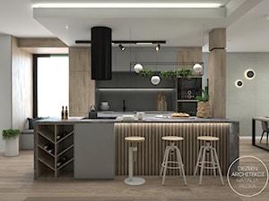 Mieszkanie z nowoczesną i przestronną kuchnią