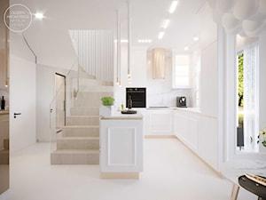 Wnętrze domu w bieli