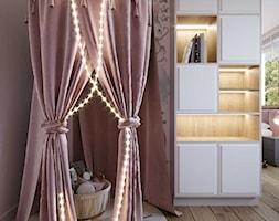 Projekt wnętrza domu w ciepłych barwach - Pokój dziecka, styl nowoczesny - zdjęcie od DEZEEN ARCHITEKCI Natalia Pęcka - Homebook