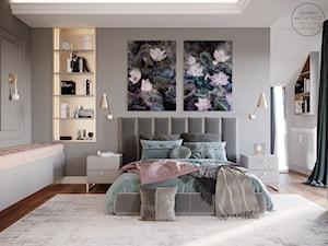 Sypialnia w pastelowych barwach