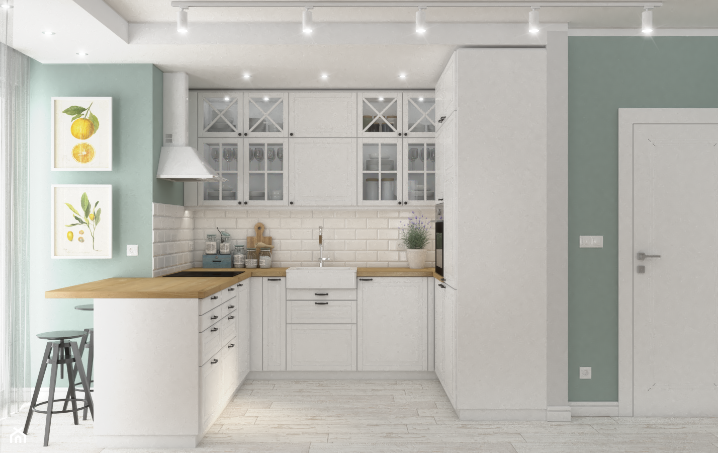 Dom w Krakowie 2 - Kuchnia, styl rustykalny - zdjęcie od VINSO Projektowanie Wnętrz - Homebook