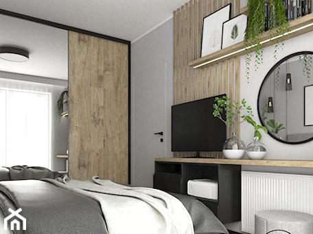 Aranżacje wnętrz - Sypialnia: Nowoczesna sypialnia w szarościach - Sypialnia, styl nowoczesny - VINSO Projektowanie Wnętrz. Przeglądaj, dodawaj i zapisuj najlepsze zdjęcia, pomysły i inspiracje designerskie. W bazie mamy już prawie milion fotografii!