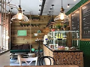 Ekologiczne kawiarnie - Wnętrza publiczne - zdjęcie od Qubatura.com