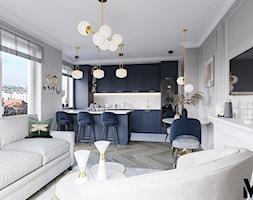 Kolor we wnętrzu - Kuchnia, styl klasyczny - zdjęcie od Monika Idzikowska Wnętrza - Homebook