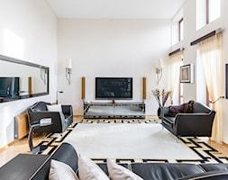 Dom na Ochocie - Salon, styl klasyczny - zdjęcie od Monika Idzikowska Wnętrza - Homebook