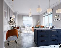 Kolor we wnętrzu - Salon, styl glamour - zdjęcie od Monika Idzikowska Wnętrza - Homebook