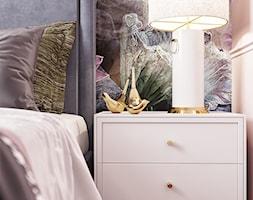 Kobieca sypialnia - Sypialnia, styl glamour - zdjęcie od Monika Idzikowska Wnętrza - Homebook