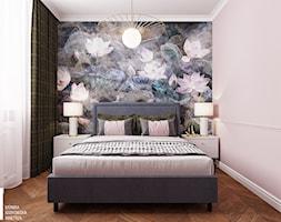 Kobieca sypialnia - Sypialnia, styl nowoczesny - zdjęcie od Monika Idzikowska Wnętrza - Homebook